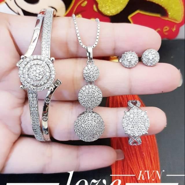 Xuping set perhiasan lapis emas 24k 0202j | Shopee Indonesia