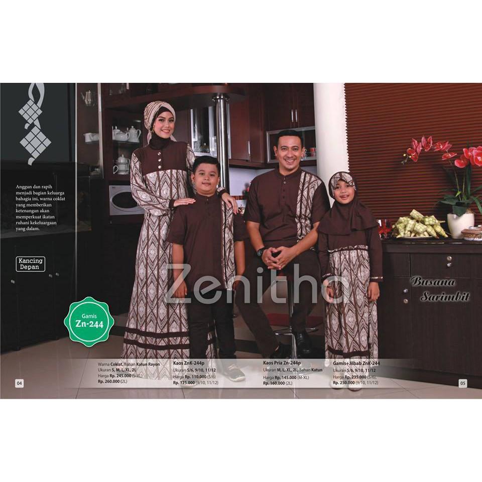 Tunik Couple Muslim Kembar Ibu Dan Anak Jual Busana Gamis Raindoz Bbr229 Original Shopee Indonesia