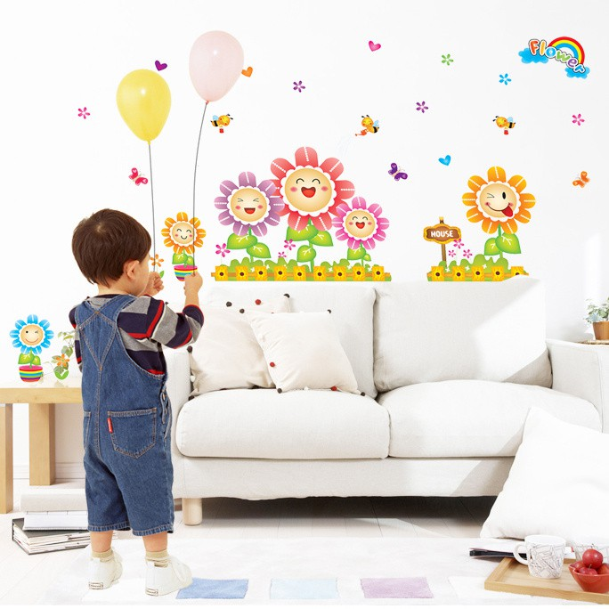 STIKER DINDING wall sticker 50x70/wallstiker transparan-AM7090-MY BREAKFAST | Shopee Indonesia