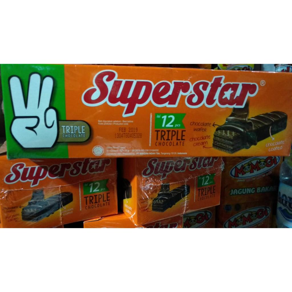 Superstar Wafer Shopee Indonesia Milo 18g 10sachet Gratis 1sachet