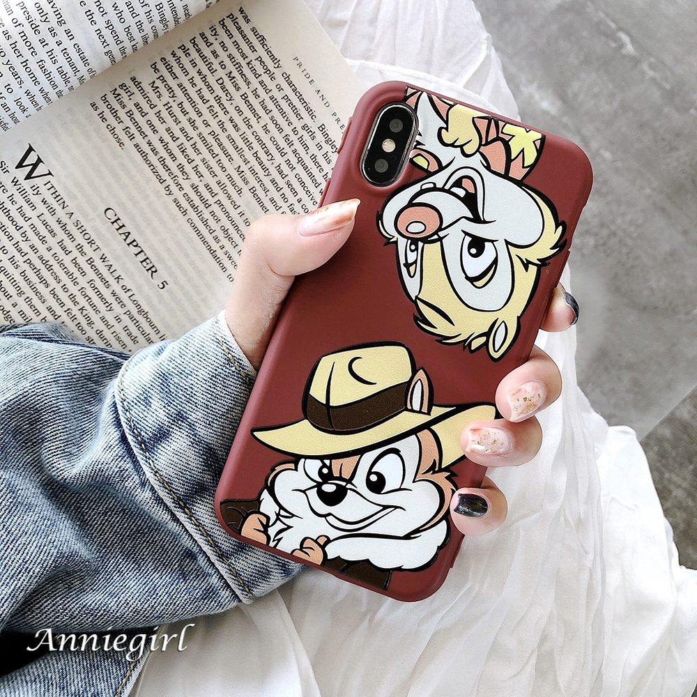 Candy Cute Cartoon Disney Chip Dale Mouse Soft TPU Phone