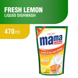 Mama Lemon Fresh Lemon Pouch 470ml