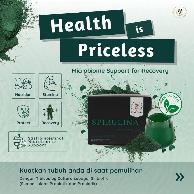 Starcore Biodrink Spirulina (berat bersih 2.5gr 15sachets)