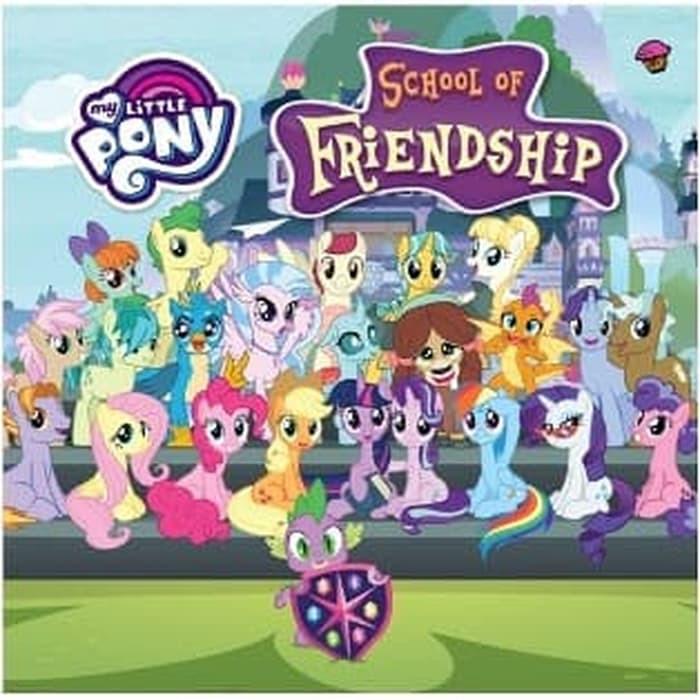 Mizan Surabaya My Little Pony School Of Friendship Boardbook Shopee Indonesia