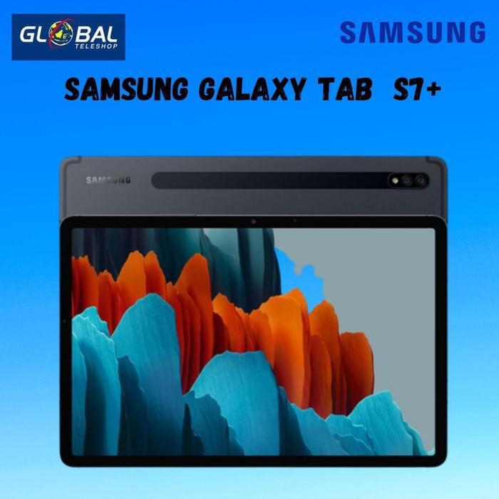 tablet mantap coy.... Samsung Galaxy Tab S7+ (8/256GB) - Mystic Black