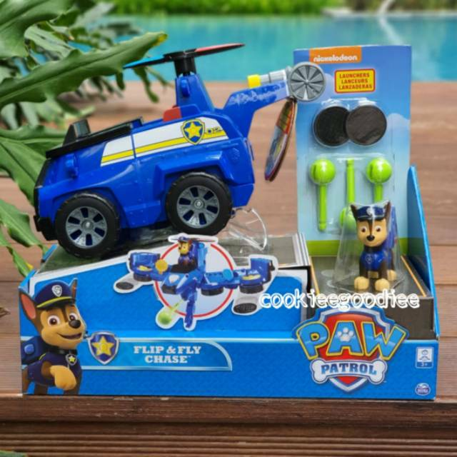 paw patrol flip  fly chase 2 in 1 transforming truck