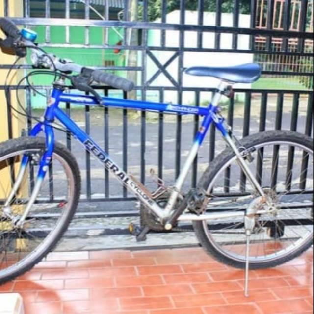 Decal Stiker Sepeda Federal Bob Cat Shopee Indonesia