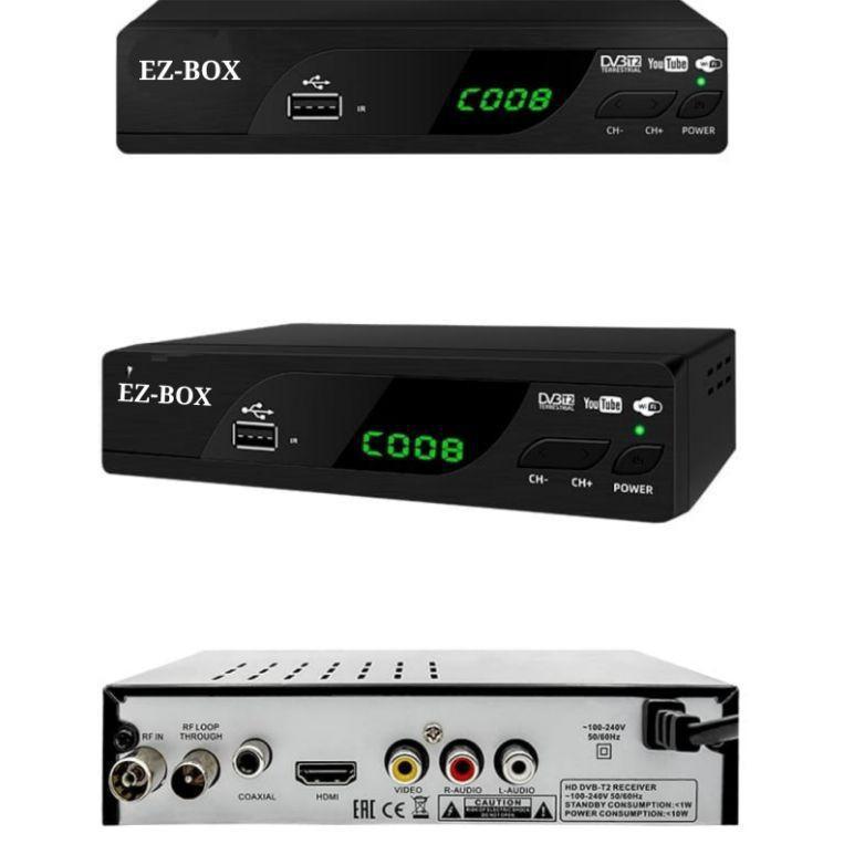 Terbaru EZ-BOX SET TOP BOX DVB-T2 PENERIMA SIARAN TELEVISI DIGITAL YOUTUBE WIFI 05