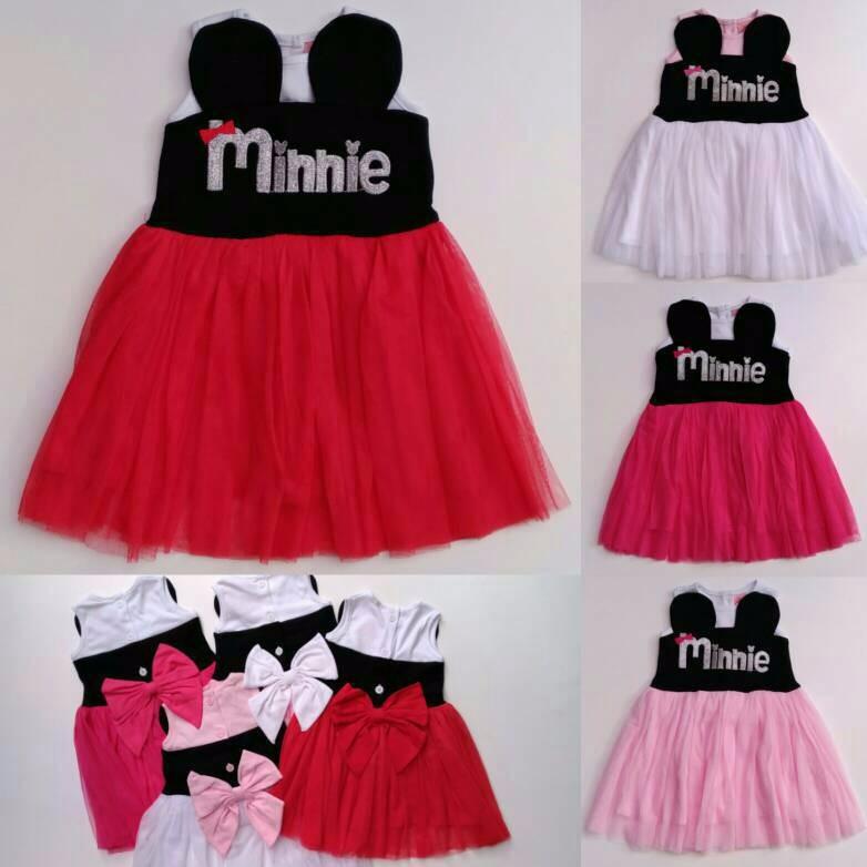 Baju Anak Perempuan Grow Gaun Katun Simply Bunga / Dress / Size 2 Thn New Produk