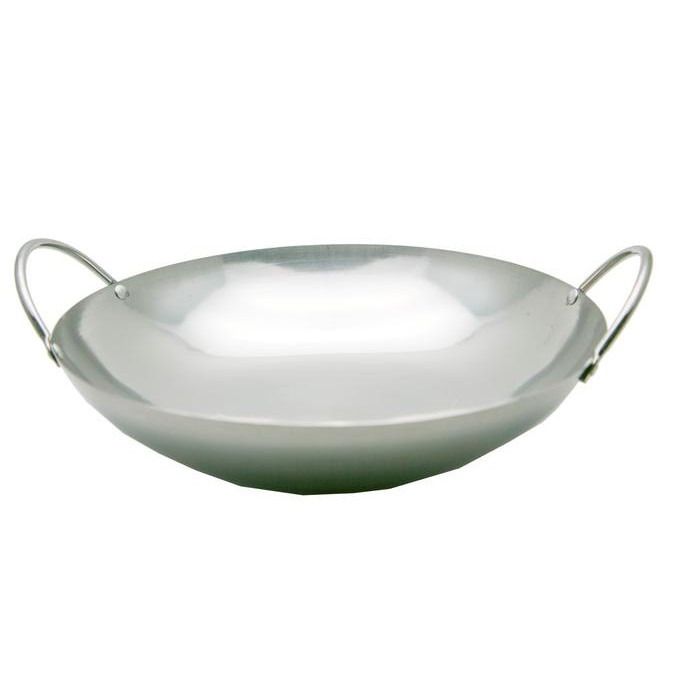 "HomeMaster Wok/Wajan/Kuali Stainless Mini Tebal 10"" JBDT10 