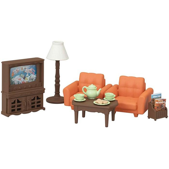 Sylvanian Families Family New Living Room Set Shopee Indonesia