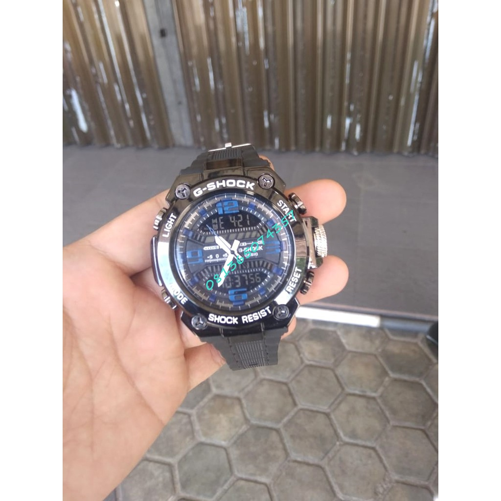 Jam Tangan Preloved Casio G-Shock Resist WR 20Bar | Mens Watch Arloji Second Original Singapore