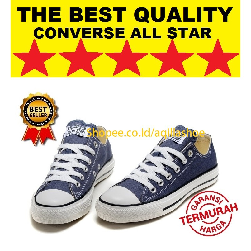 301f9e452855 SEPATU CONVERSE NAVY GREY DOUBLE UPPER OX