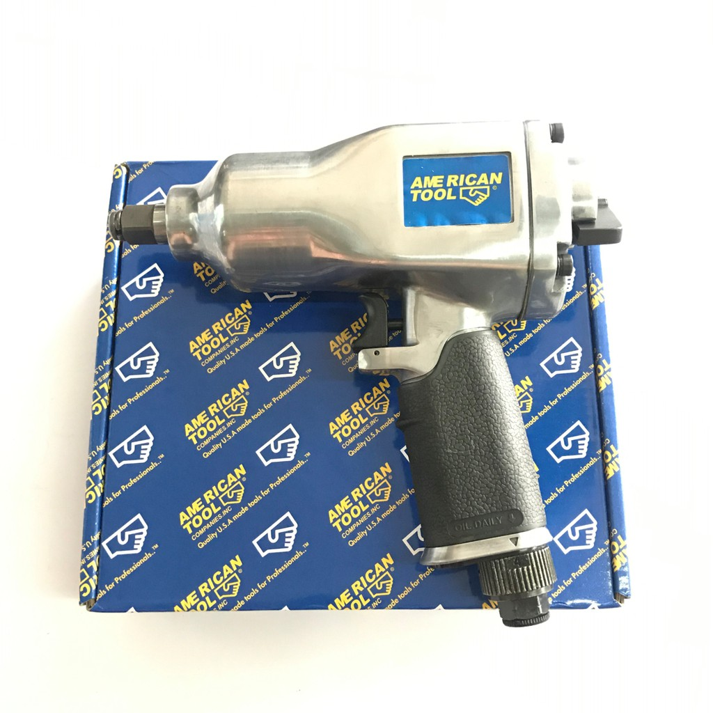 MOLLAR Air Impact Wrench Kit 1/2 Inch Mesin Buka Baut Angin Kompresor | Shopee