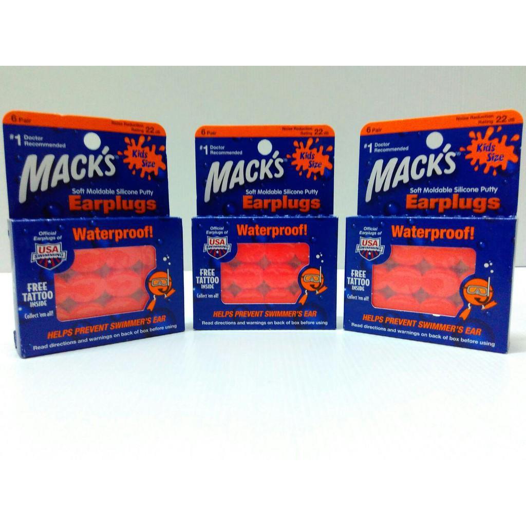 Macks Earplugs Shopee Indonesia Pelindung Telinga Bayi Dan Anak