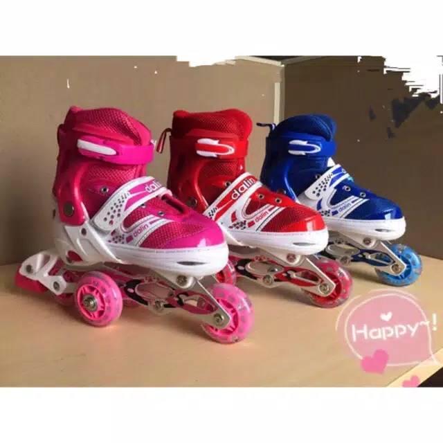 Sepatu Roda Anak Murah Sepatu Inline Skate Lampu  e5166bd9f9