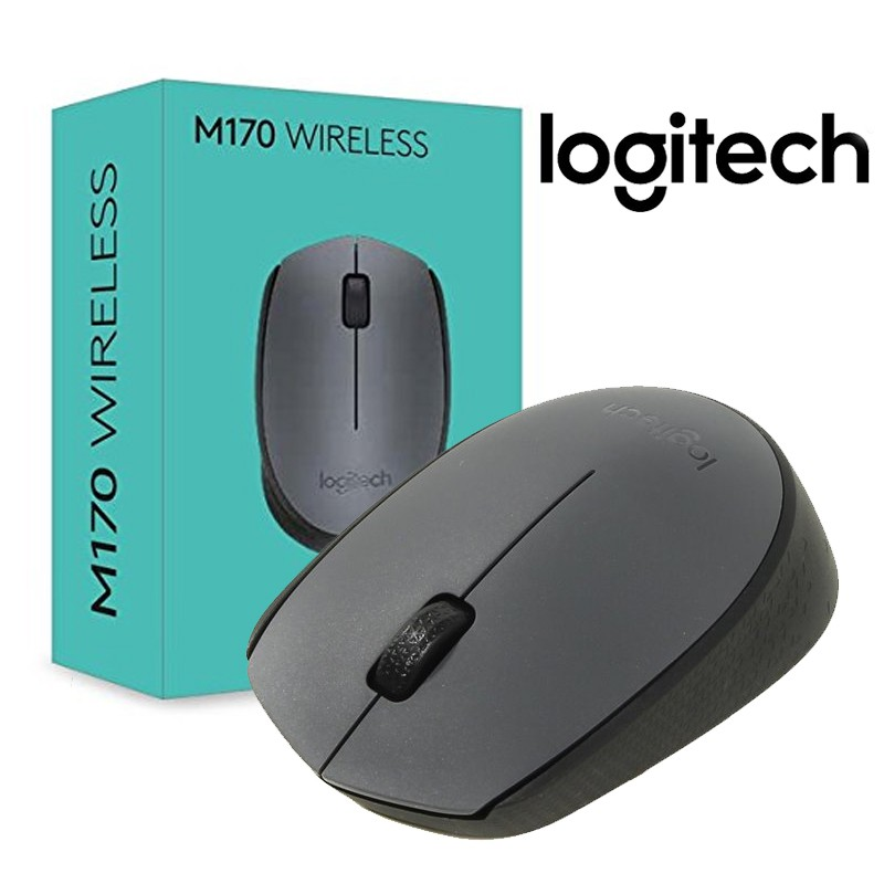 Logitech Mouse Wireless M170 [ Garansi Resmi ]   Shopee Indonesia