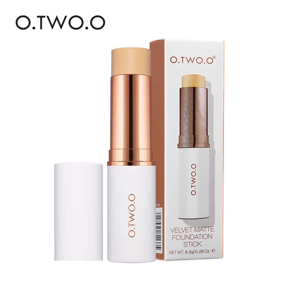 O Foundation + Puff Kosmetik / Makeup Flawless | Shopee Indonesia