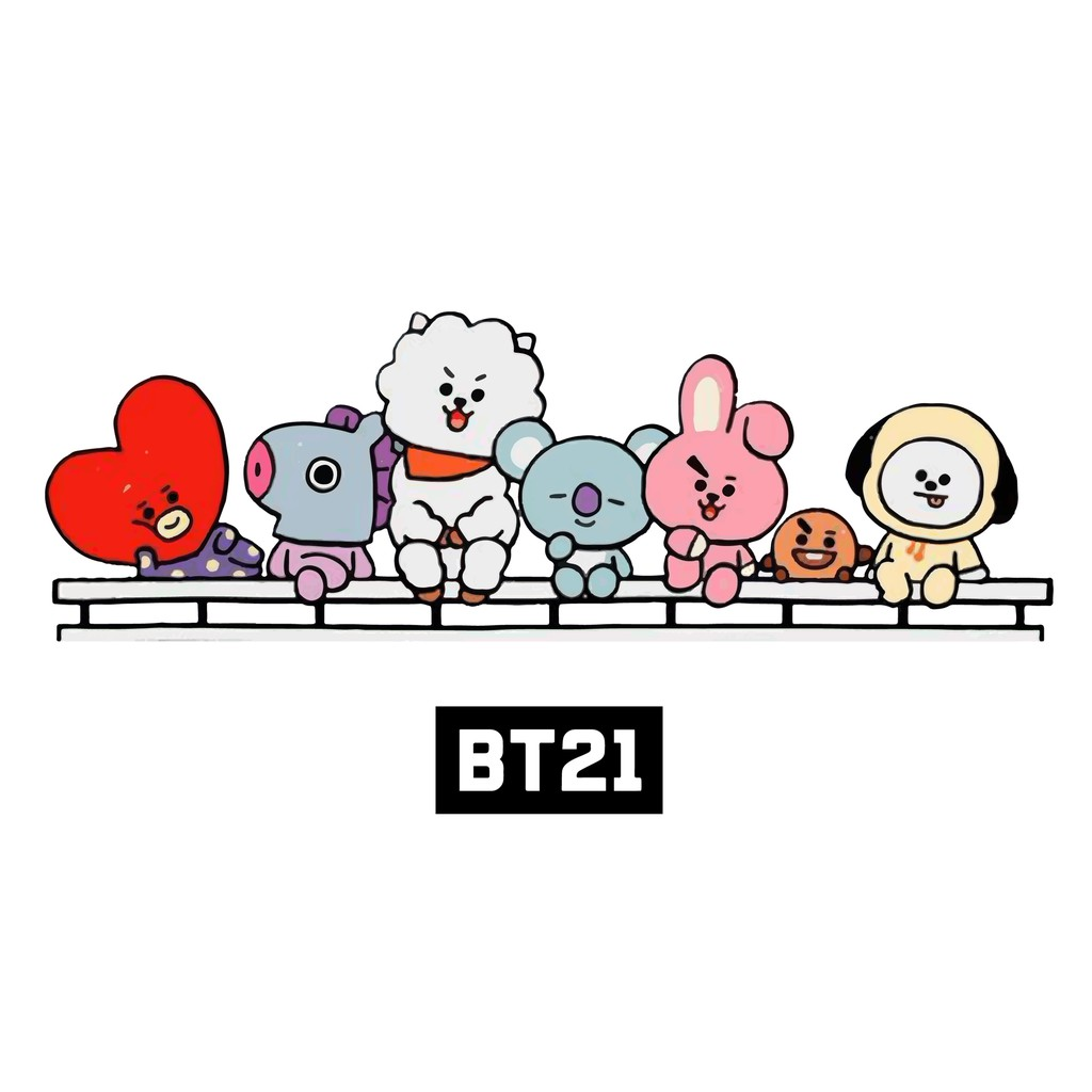 Kaos Bt21 Animasi Replika Shopee Indonesia