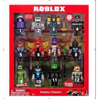 Roblox Figure 6 9pcs Action Figure Champion Of Roblox Shopee - nightmare roblox roblox free robux on pc