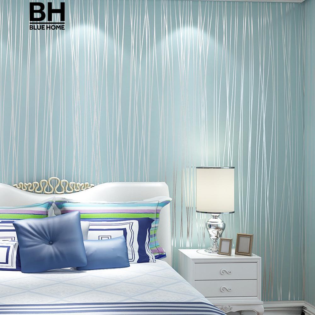 10M Wallpaper Kamar Tidur Ruang Tamu Modern Dinding TV Latar Belakang Dekorasi Rumah