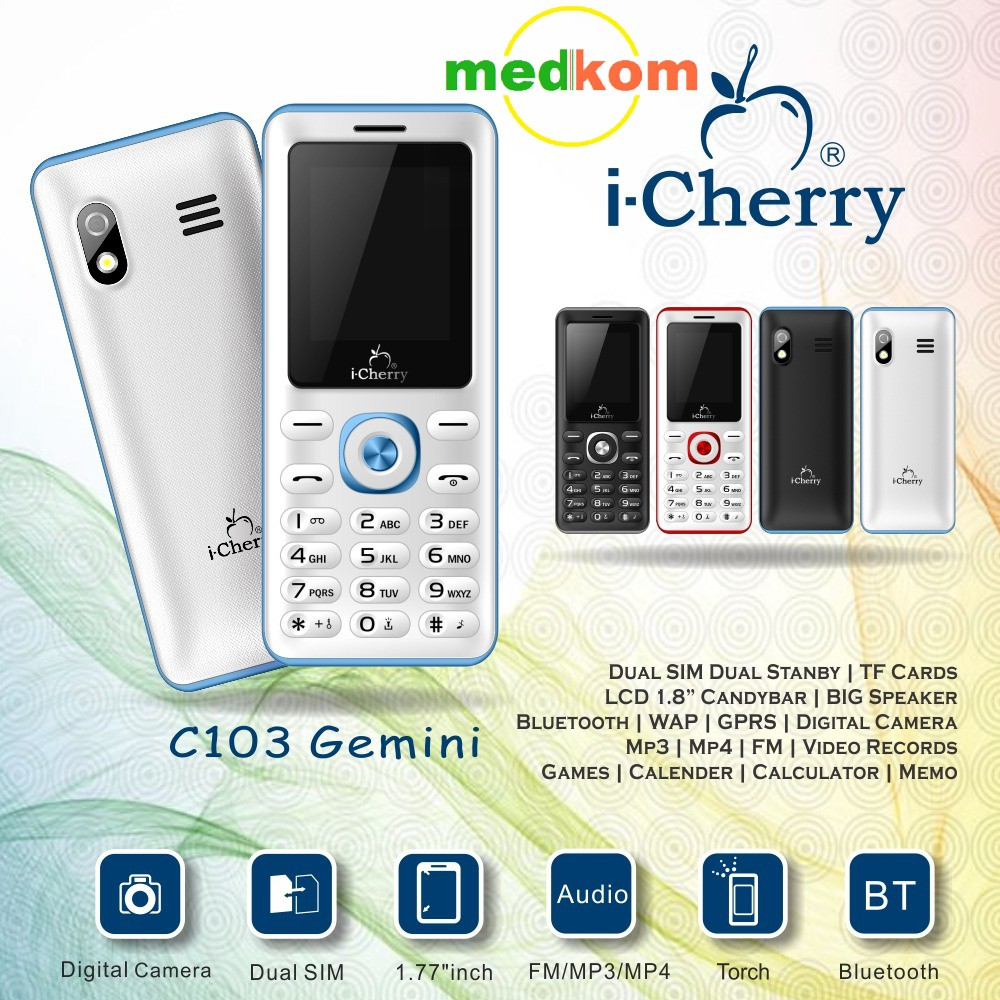 Up To 72 Discount From Brand Icherry C125 C103 Geminicandybar Dual Si