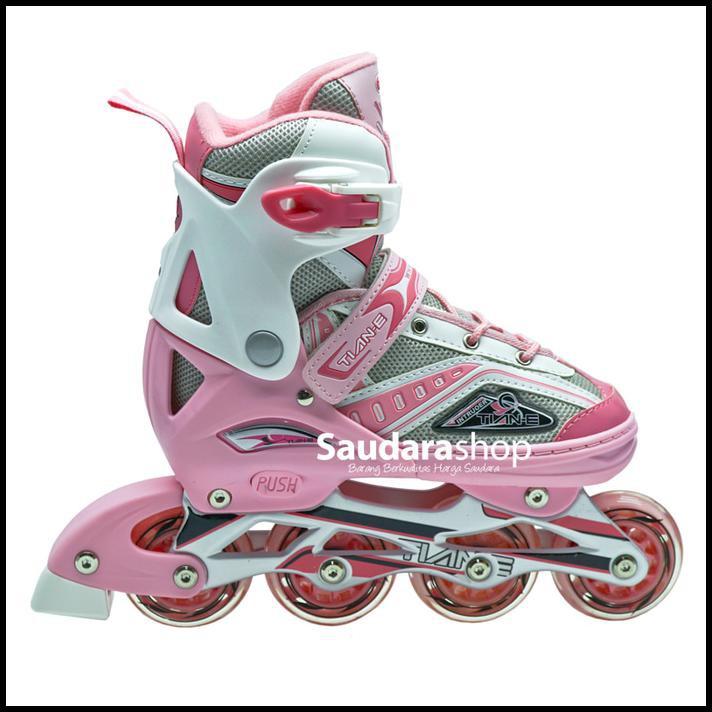 Cool Slide Sepatu Roda Inline Ban Full Karet Biru Sepaturoda Inline ... 98aed6d04f