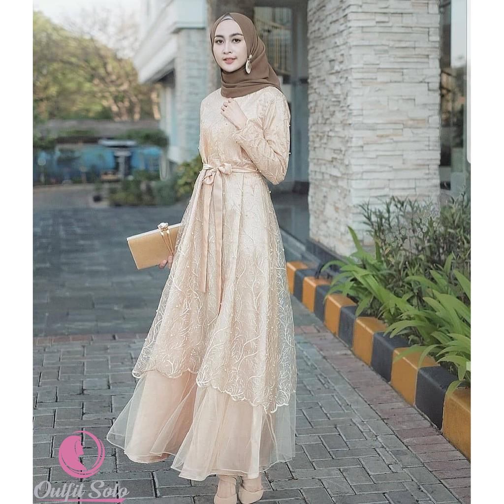 Jildan Dress  Outfit Kondangan  Gamis Brokat Terlaris