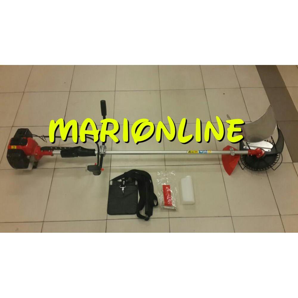 Mesin Potong Padi Jagung Tebu Gendong Matrix Mtx 520 Brush Cutter Rumput 4 Tak 431 Paddy Reaper Terlaris Shopee Indonesia