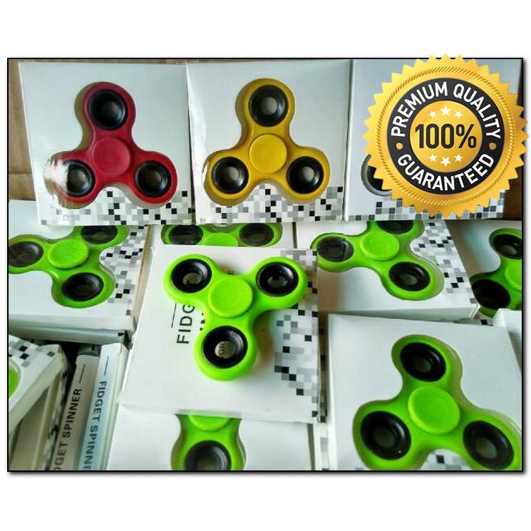... Toys Mainan Tri-Spinner EDC Focus Games - Random. Source · Fidget Spinner Metal Terbaru Shuriken Blade Hand Spinner Premium   Shopee Indonesia