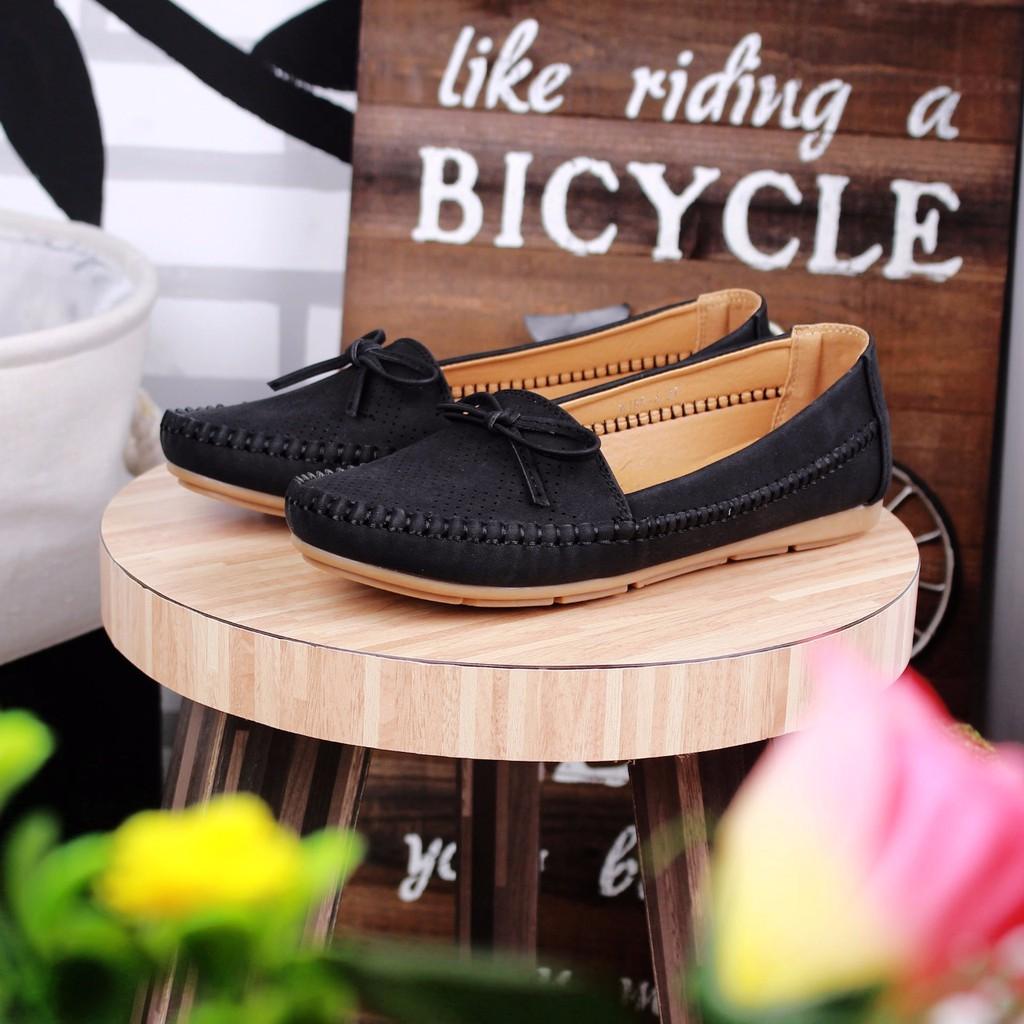 Flash Sale Marilyn Loafers Shopee Indonesia Amazara Delia Black Flatshoes Hitam 36