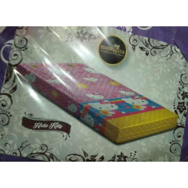 SARUNG KASUR BUSA INOAC UK 160X200 180X200 TINGGI 15CM MERK MONALISA | Shopee Indonesia