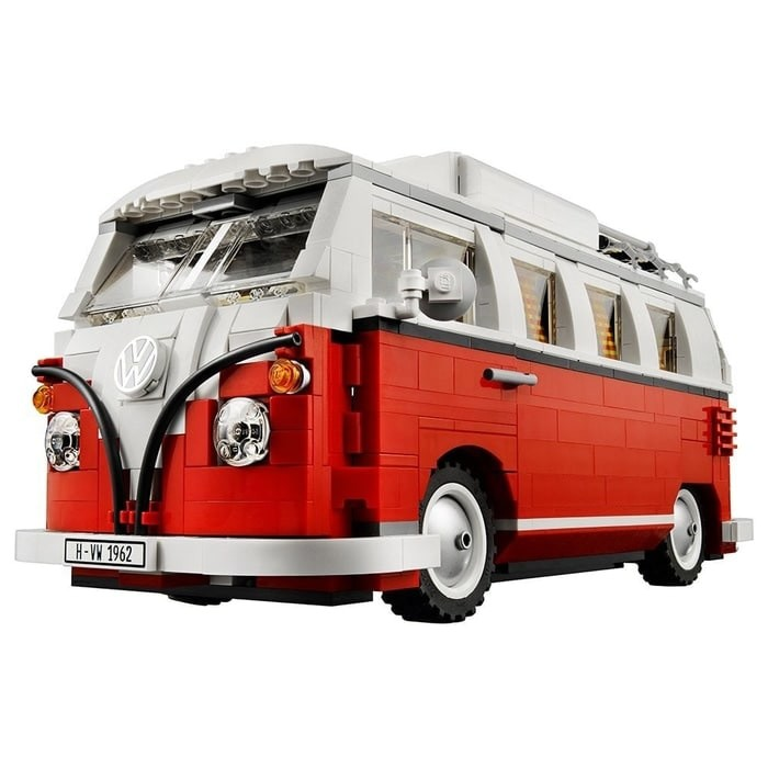 Vw Camper Van >> Hot Lepin Brick Creator Vw Camper Van 21001