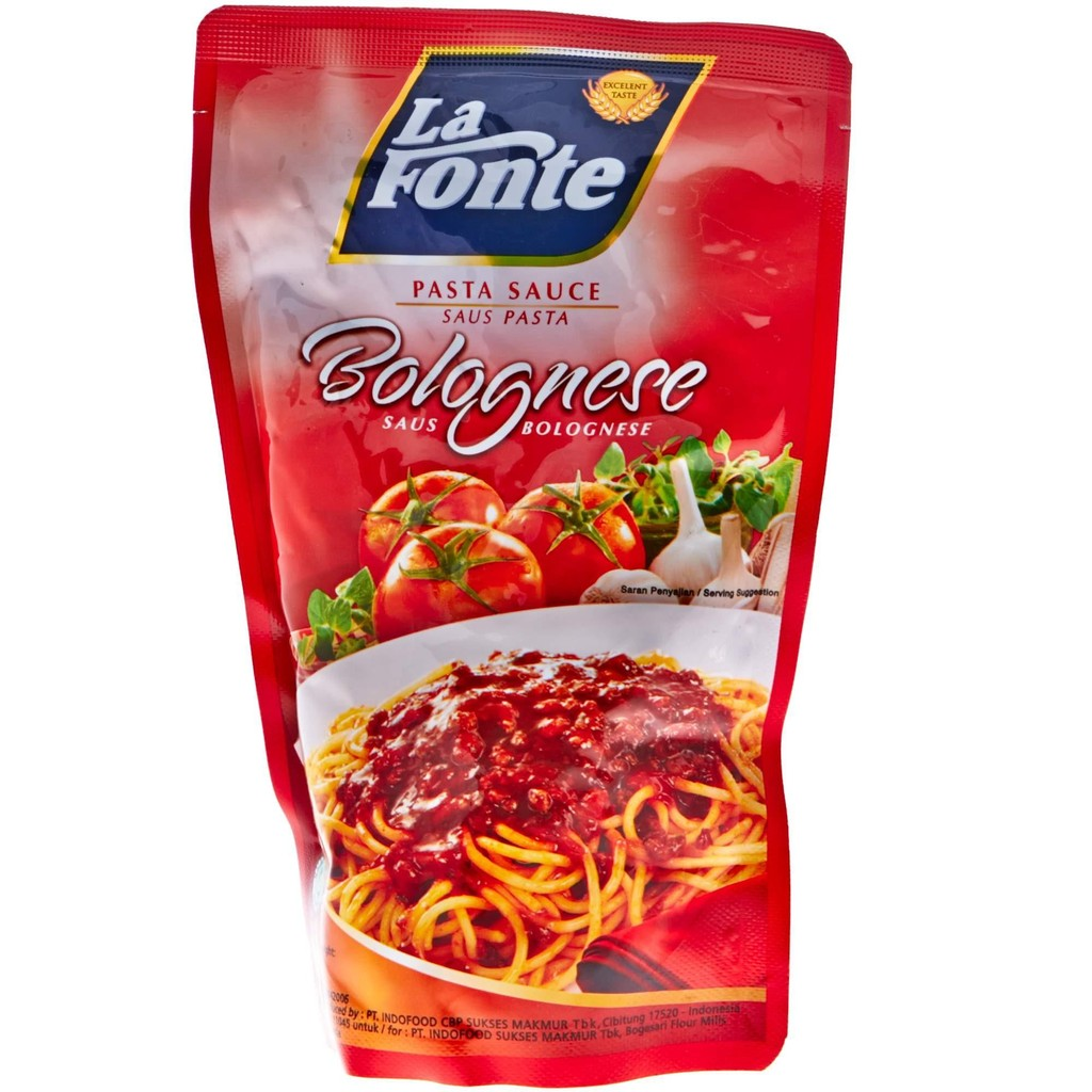 Saus Pasta La Fonte Barbeque 280gr Shopee Indonesia Saos Abc Renceng