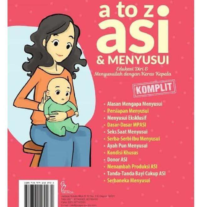 Buku Panduan Ibu Kehamilan Dan Menyusu A To Z Asi Menyusui Komplit Kode 962 Shopee Indonesia