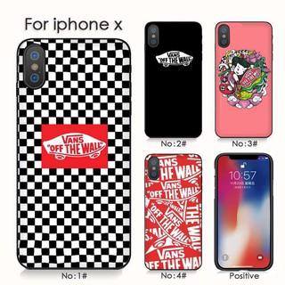 oficjalny sklep piękno sprzedaż Vans Casing Soft Case iPhone 6 / 6S / 6sp / 7 / 8 / 7P / 8P / x Desain  Supreme