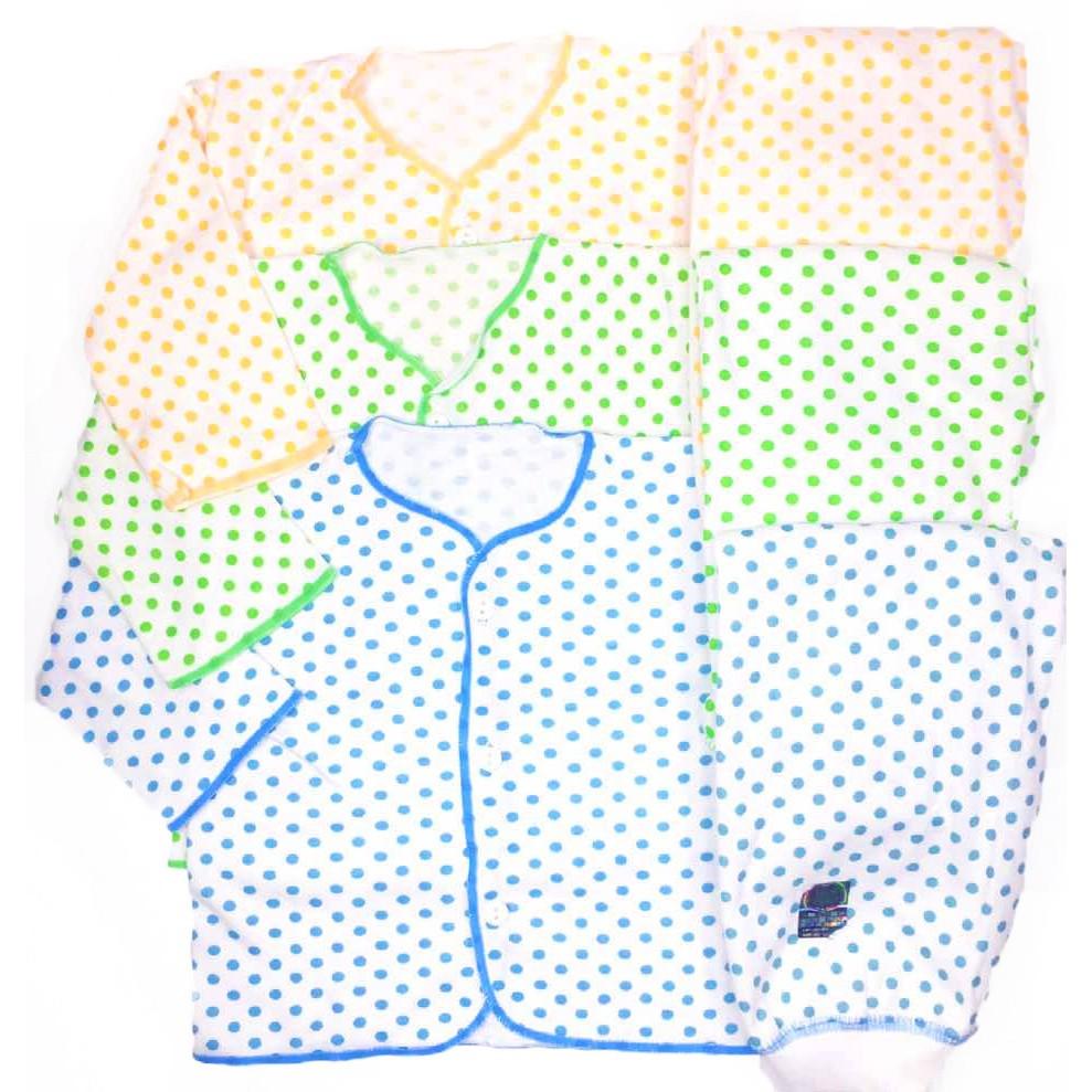Baju Bayi 3set Shankunsen Setelan Panjang Newborn 3 Set Shopee 3stel Celana Diapers Polos Berwarna Spw4 Indonesia