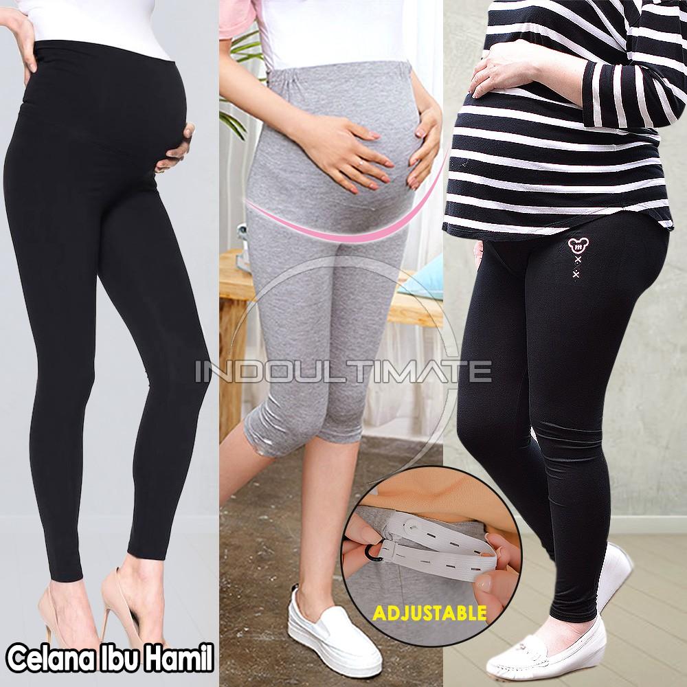 Dingin Jumbo Celana Panjang Ibu Hamil Leging Legging Ibu Hamil Celana Kerja Baju Pakaian Ibu Hamil Shopee Indonesia