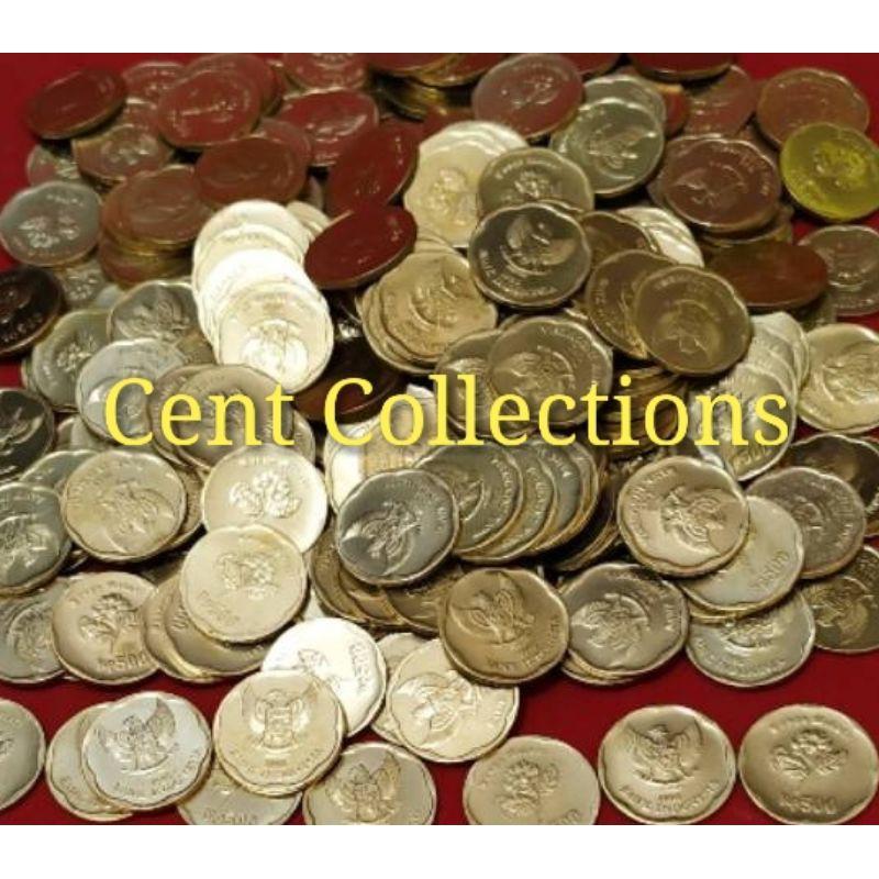 Uang koin tahun 1991 - koin Rp500 melati kuning tahun 1991 - koin melati untuk mahar nikah & koleksi