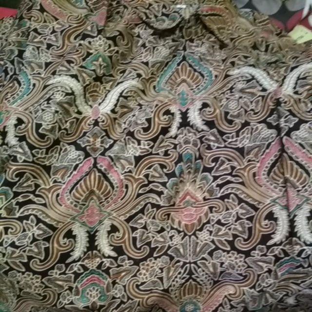 Promo Asli Risna Batik Jumbo Hrb093 Hem Batik Pria Pendek Premium M L Xl Xxxl 3l 4l 5l Pria Batik