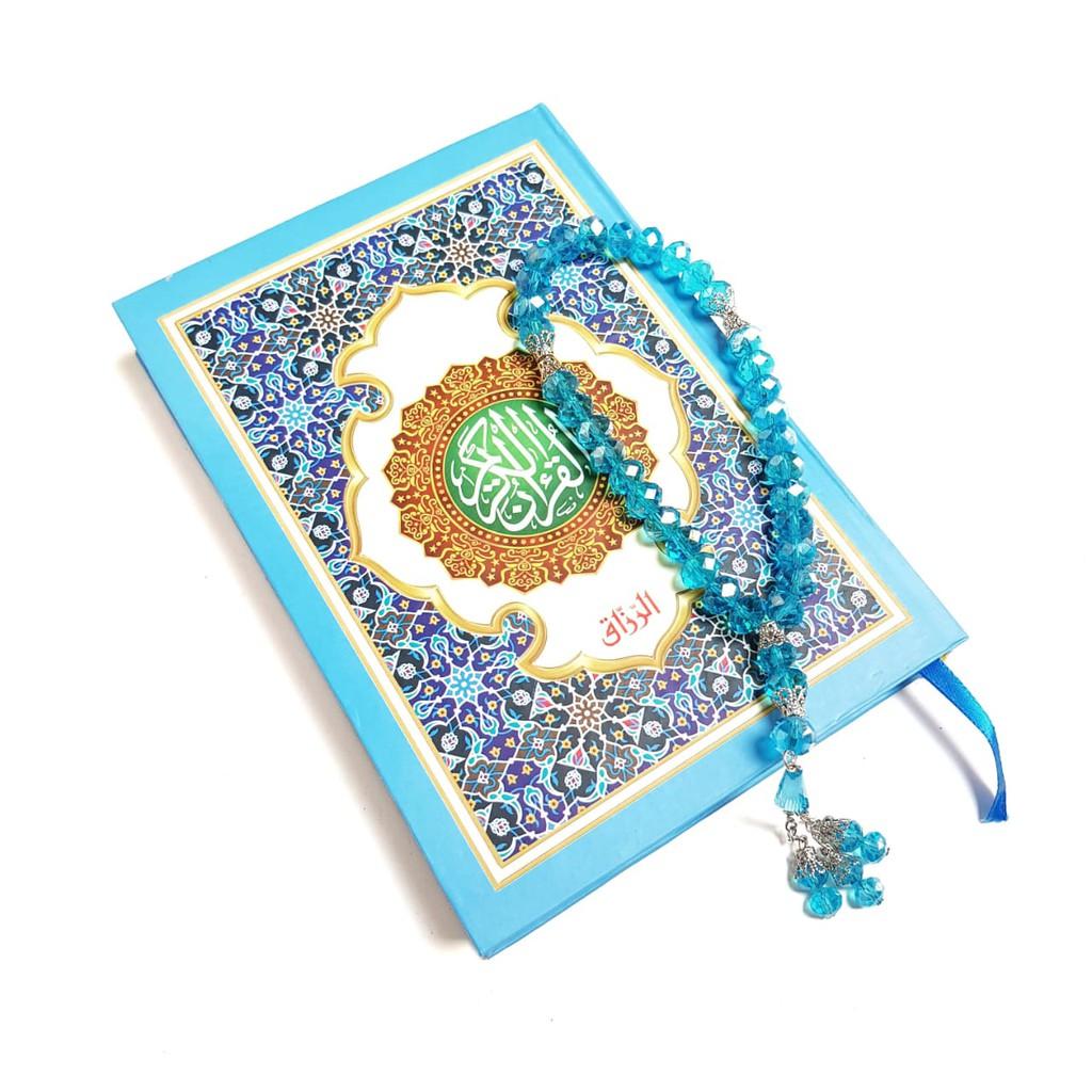 Qa65 Al Qur An Cantik Souvenir Dengan Tasbih Arab Nonterjemah Tahlilan Haul 40 Hari Kado Shopee Indonesia