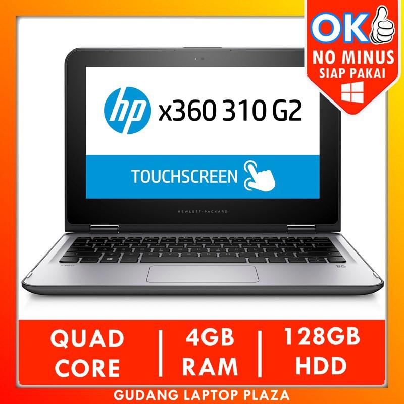 "Laptop HP Pavilion X360 Touchscreen Intel 4GB Laptop Murah Bekas Second Netbook Tablet Slim 11.6"""