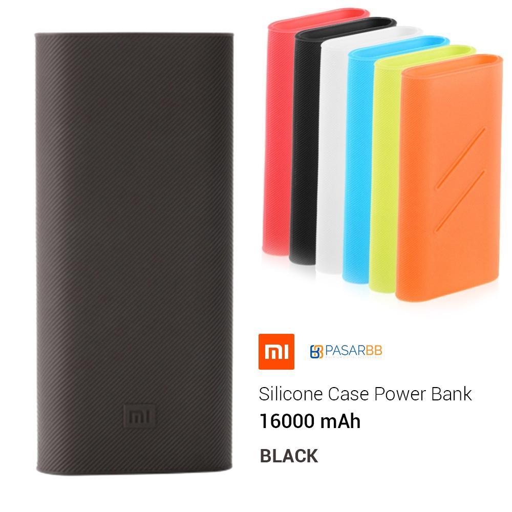 Xiaomi Silicone Case For Mi Powerbank 16000mah Putih Daftar Harga Tcash Vaganza 17 Power Bank 10000mah 2 Fast Charging Generation Black 10000 Mah Bonus Silikon Original 1