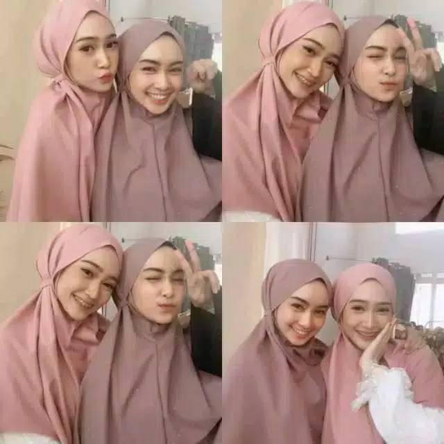 Bergo Maryam Bergo Tali Non Pet Diamond Instan Hijab Jilbab Bergo Maryam Diamond Termurah Shopee Indonesia