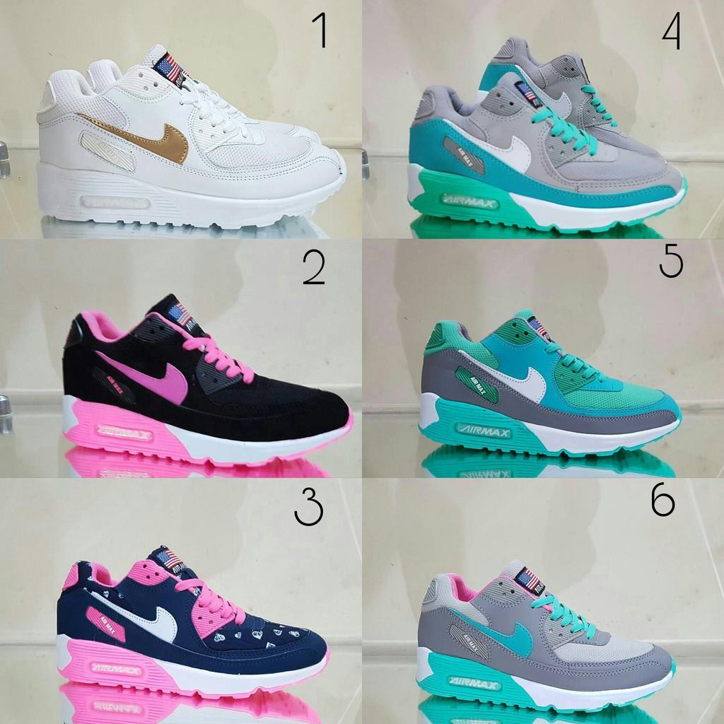 Ardiles Women Blessing Sneakers Abu Shopee Indonesia Laziza Sepatu Running Navy 38