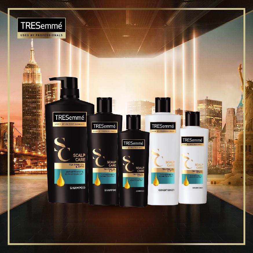 Tresemme Shampo Rambut Scalp Care Tea Tree Oil And Zypto 170ml Lawan Bakteri-3