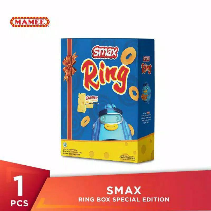 Smax ring  snack keju box 100 gram