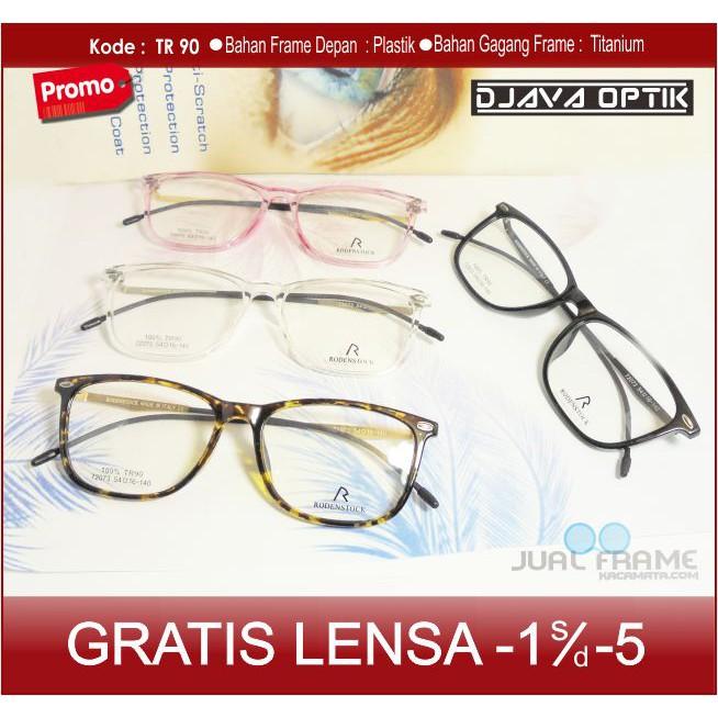 frame+lensa minus baca plus kacamata eyecat kecil wanita warna gradasi  1f13444f79