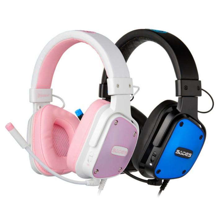 HEADSET GAMING SADES DPower SA-722 HEADPHONE WITH MICROPHONE