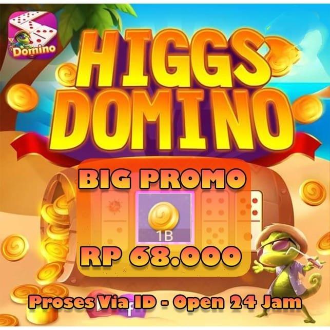 Chip Game Domino Higgs / Island Ungu MD Resmi / Coin / Koin / Cip / Higg / Higs / Island